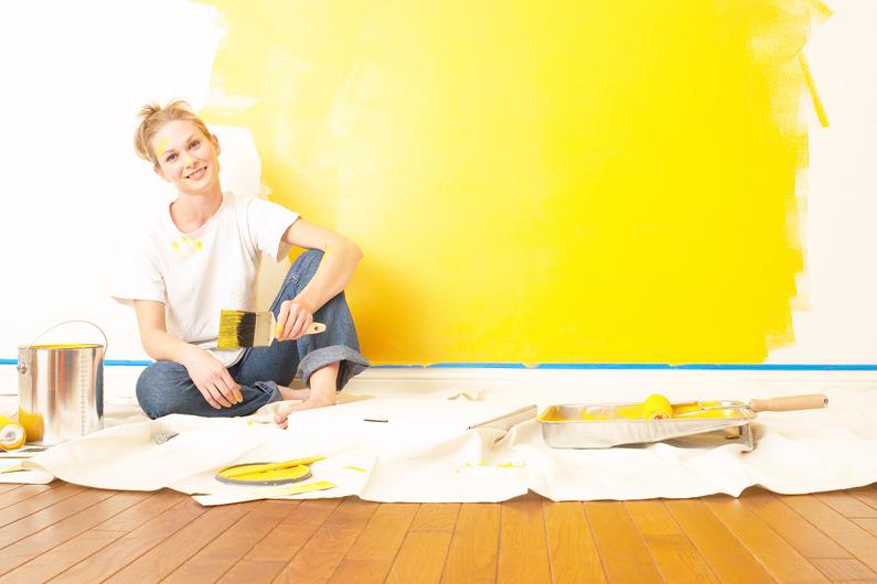 préparation du surface à peindre