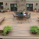 Une belle terrasse en bois