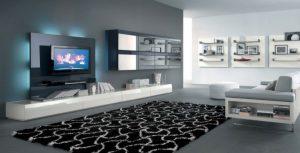 meuble-tele-blanc-laque-tapis-design-canape-angle